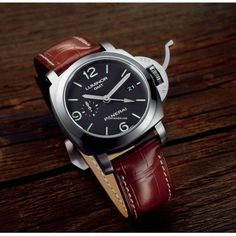 Panerai [NEW] PAM 320 LUMINOR 1950 Marina 3 Days GMT Power Reserve (Retail:HK$68,100) ~ JULY SPECIAL: HK$52,500.