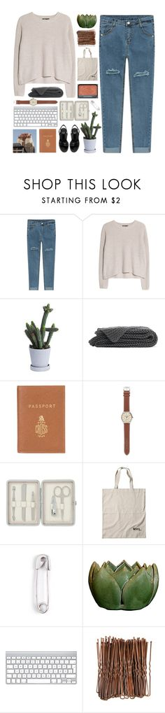 """""""i don't want some pretty face to tell me pretty lies"""" by i-smell-grunge ❤ liked on Polyvore featuring MANGO, Mark Cross, J.Crew, John Lewis, NARS Cosmetics and IaM by Ileana Makri"""