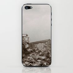 Demolition  iPhone & iPod Skin by Anja Hebrank - $15.00  #kiel #germany #deutschland #autumn #urban #urbandecay #decay #abandoned #lost #lostplace #blackandwhite #bnw #demolition #old #vintage #streetphotography #canon #present #decoration #interior #travelling #travelphotography #design #individual #society6 #print #art #artprint #interior #decoration #design #photography #iphone #ipod #cover #case #skin