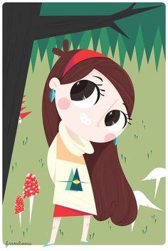 framboosi: Mabel - Gravity Falls, this is cute Dipper And Mabel, Mabel Pines, Gravity Falls Fan Art, Reverse Falls, Disney Shows, Kawaii, Force Of Evil, Cool Cartoons, Anime
