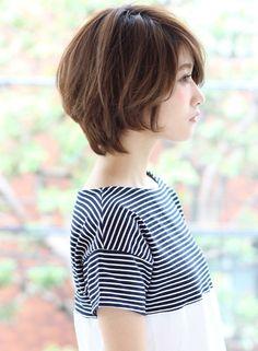 大人キュートショートボブ(髪型ショートヘア)