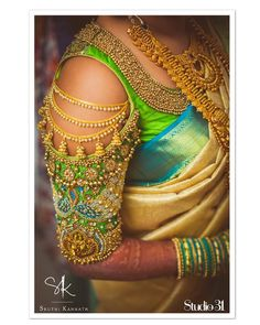 Exclusive Saree Blouse designs for every South Indian Bride!- Eventila Tired of scrolling through a bunch of pages to find that perfect blouse designs? Check out the top most South Indian blouse designs to pair with a kanjeevaram saree- Eventila Blouse Back Neck Designs, Simple Blouse Designs, Stylish Blouse Design, Wedding Saree Blouse Designs, Pattu Saree Blouse Designs, Blouse Designs Silk, Blouse Patterns, Latest Blouse Designs, Wedding Sarees