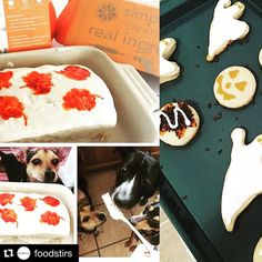 """Many Many thanks to @sarahmgellar and the team at @foodstirs for featuring my #Halloween cookies on """"Stir with Sarah"""" one of many features on the #foodstirs blog. It was a delight to make plus the support for me a novice baker does not go unnoticed! #bakingchronicles #baking #repost @foodstirs  #NationalCandyDay gets all the sweeter with this weeks Stir with Sarah picks. Read all about @sarahmgellars favorites on our blog at foodstirs.com or tap the link in our bio. #foodstirs #stirwithsarah"""