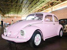 pink beetle volkswagen