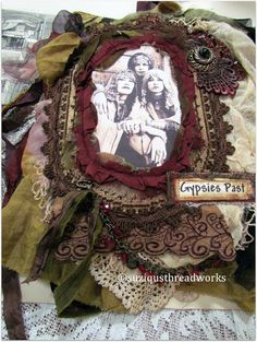 "Suziqu's Threadworks: ""Gypsies Past"" - a new Fabric and Lacebook"