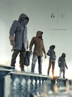 Assassins Creed Hooded Coats by Musterbrand.