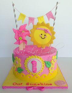 You are my Sunshine cake kit and topper, summer party cake decoration kit Sunshine Birthday Parties, 2nd Birthday Parties, Birthday Ideas, First Birthday Cakes, 1st Birthday Girls, Happy Birthday, Sunshine Cake, Sunshine Cupcakes, Cake Kit