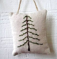 stitched tree... simple & sweet