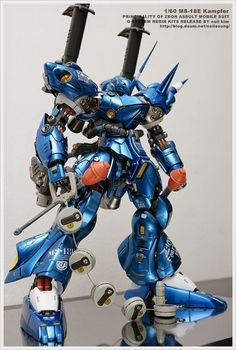 POINTNET.COM.HK - G-System 1/60 MS-18E Kampfer 京寶凡 Armored Core, Gundam Mobile Suit, Gundam Custom Build, Man Of War, Gunpla Custom, Mecha Anime, Robot Design, Lol League Of Legends, Gundam Model