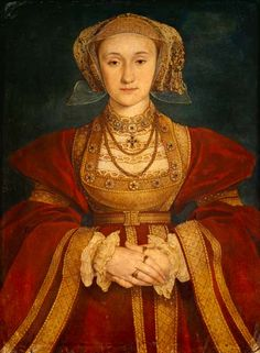 Hans Holbein the Younger-Anna of Cleve