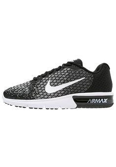 quality design 559e9 2b47d AIR MAX SEQUENT 2 - Chaussures de running neutres - black white dark  grey wolf grey volt