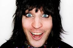 Noel takes us through a little photo album of his.. x http://www.mirror.co.uk/tv/tv-news/noel-fielding-called-alice-cooper-4821600