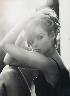 Christy Turlington by Steven Meisel for Vogue Italia, September 1991