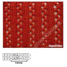 Slip Stitch Knitting, Lace Knitting Stitches, Lace Knitting Patterns, Knitting Charts, Knitting Socks, Hand Knitting, Crochet Rug Patterns, Creations, Couture