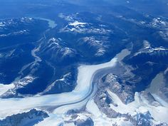 Aerial view, Patagonia. From ¡MAN ABROAD!
