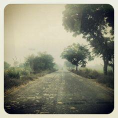 Road to Barsana