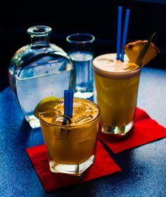 Drinks at Bar...Coming soon, Prage. Copyright Aki Votrubova.
