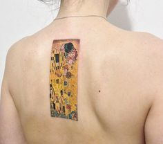 TOP 12 des tatouages Gustav Klimt / Tattoos