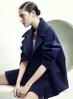 Vogue Turkey April 2015 | Catherine Mcneil by David Slijper [Editorial]