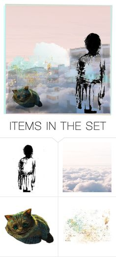 """""""On the clouds"""" by lablanchenoire ❤ liked on Polyvore featuring art"""