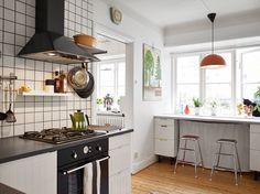 Arty Apartment in Sweden - Scandinavian Design