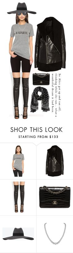 """""""Ground zero"""" by johnrefos ❤ liked on Polyvore featuring Rodarte, Rick Owens, Givenchy, Chanel, Yves Saint Laurent and Bulgari"""