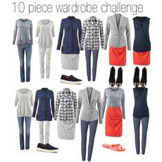 10 piece wardrobe challenge