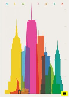 shapes of cities presents signature buildings from iconic metropolises