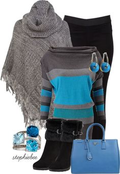 """""""Poncho v2"""" by stephiebees on Polyvore"""