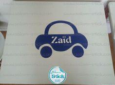 #Stickers pour enfants posés sur des bureaux #voiture  http://www.salam-stick.com/15-stickers-pour-enfants