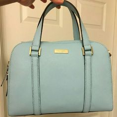 """Kate Spade Small Felix NWT Kate Spade Small Felix. Authentic  Color: Bleydrnga. Measures: 11'5"""" 8.5"""" 5"""" Includes removable shoulder strap.  Can be worn as crossbody or shoulder bag as well. Gold hardward. Fully lined.  Brand new, never used. No trades. Offers are welcomed. kate spade Bags Baby Bags"""