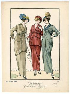 1914-1920, Plate 027 :: Costume Institute Fashion Plates