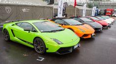 The Lamborghini Blancpain SuperTrofeo 2012 started in Monza