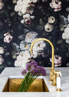 Florals On Florals - A Designer's Home That Takes Wallpaper To The Next Level - Photos