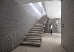 Concrete home in South Korea called Alley's Adventures in Wonder House