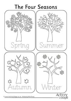 cool and opulent seasons coloring pages printable four seasons colouring page season coloring pages printables seasonal coloring pages printable