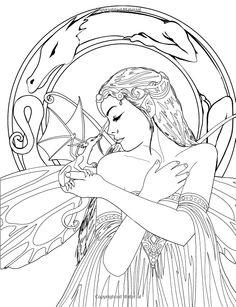 Fairy Art Coloring Book - Selina Fenech - Livres