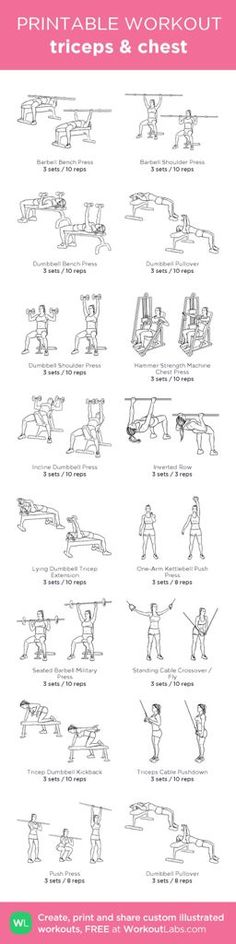Gym WorkOut Plan