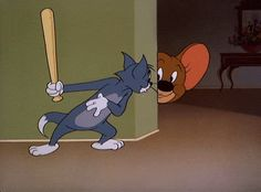 Check out all the awesome tom and jerry gifs on WiffleGif. Including all the movie gifs, tv gifs, and mouse gifs. Tom Und Jerry Cartoon, Tom And Jerry Funny, Vintage Cartoons, Classic Cartoons, Animiertes Gif, Animated Gif, Looney Tunes Cartoons, Funny Cartoons, Cartoon Wallpaper