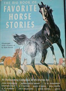 I read every horse book I could get my hands on.
