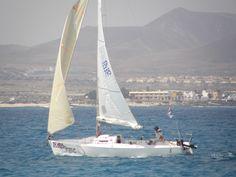 relax sailing in Fuerteventura