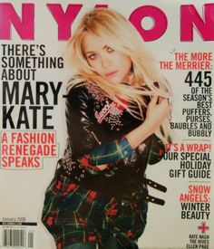 December 2007/January 2008 cover with Mary-Kate Olsen