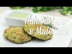 Hambúrguer de Ervilha e Maionese Verde de Castanha de Caju- Presunto Vegetariano