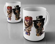 Guns n' Roses - canecas exclusicas - Mitos do Rock