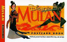 Mulan Postcard Book @ niftywarehouse.com #NiftyWarehouse #Disney #DisneyMovies #Animated #Film #DisneyFilms #DisneyCartoons #Kids #Cartoons