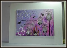 Eileen's Crafty Zone: Lavinia Stamps - October Challenge on Facebook.