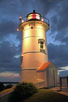 Nobska Point Lighthouse - Woods Hole, Falmouth, Massachusetts