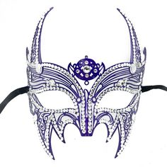New Wolverine Men's Mask Laser Cut Venetian Halloween Unisex Masquerade Mask Costume Extravagant Inspire Design - Purple *** More info could be found at the image url.