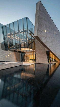 Cantilever Architecture, Unique Architecture, Futuristic Architecture, Concept Architecture, House Architecture, Chinese Architecture, Conceptual Model Architecture, Office Building Architecture, Baroque Architecture