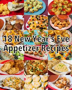 18 New Year's Eve Appetizer Recipes